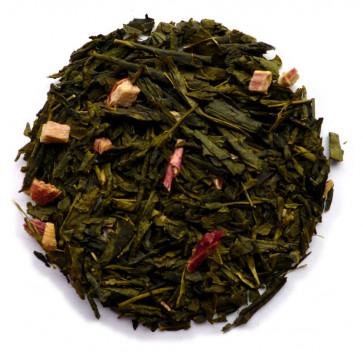 Grøn Sencha m/ rabarber