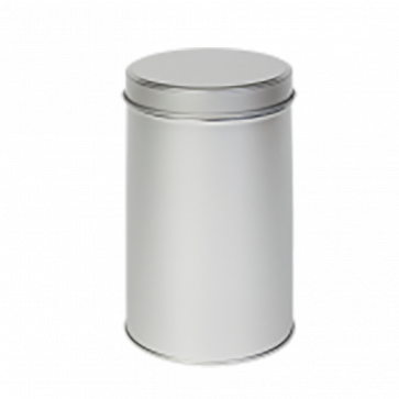 Sølvdåse rund rummer ca. 400 gr.